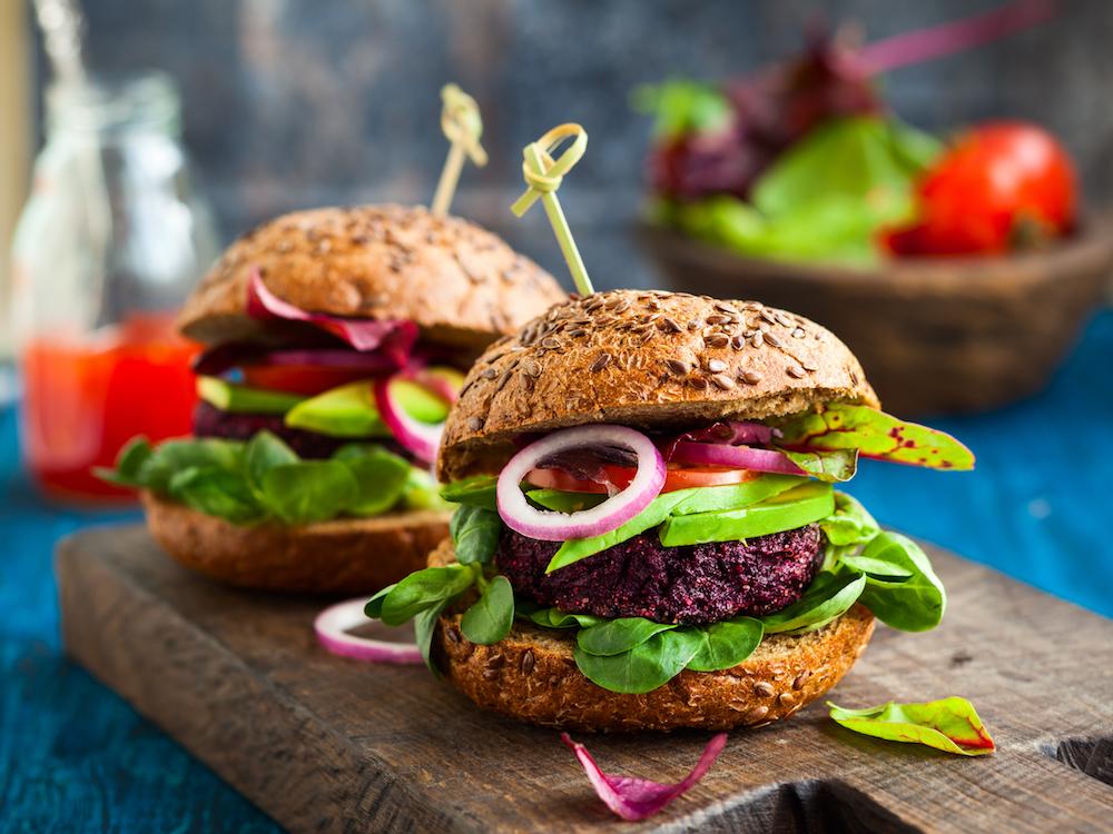 burger vegan fast food vegetale