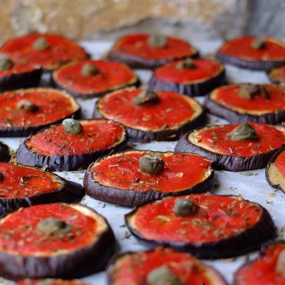 pizzette di melanzane vegan gluten free_francesca bresciani_io scelgo veg
