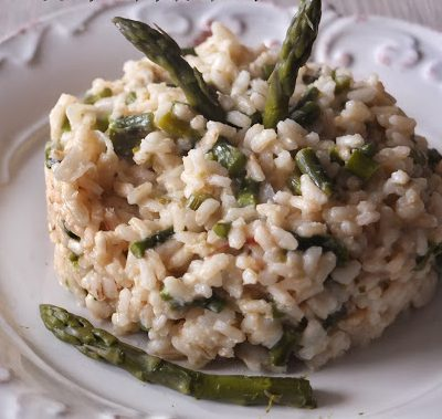 risotto agli asparagi mantecato con anacardi_francesca bresciani_io scelgo veg
