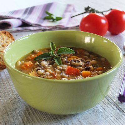 zuppa fagioli dell occhio_francesca bresciani