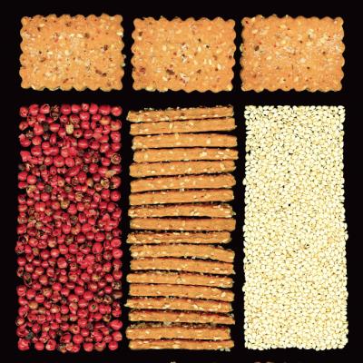Cracker vegan al sesamo e pepe rosso_manuel marcuccio_io scelgo veg
