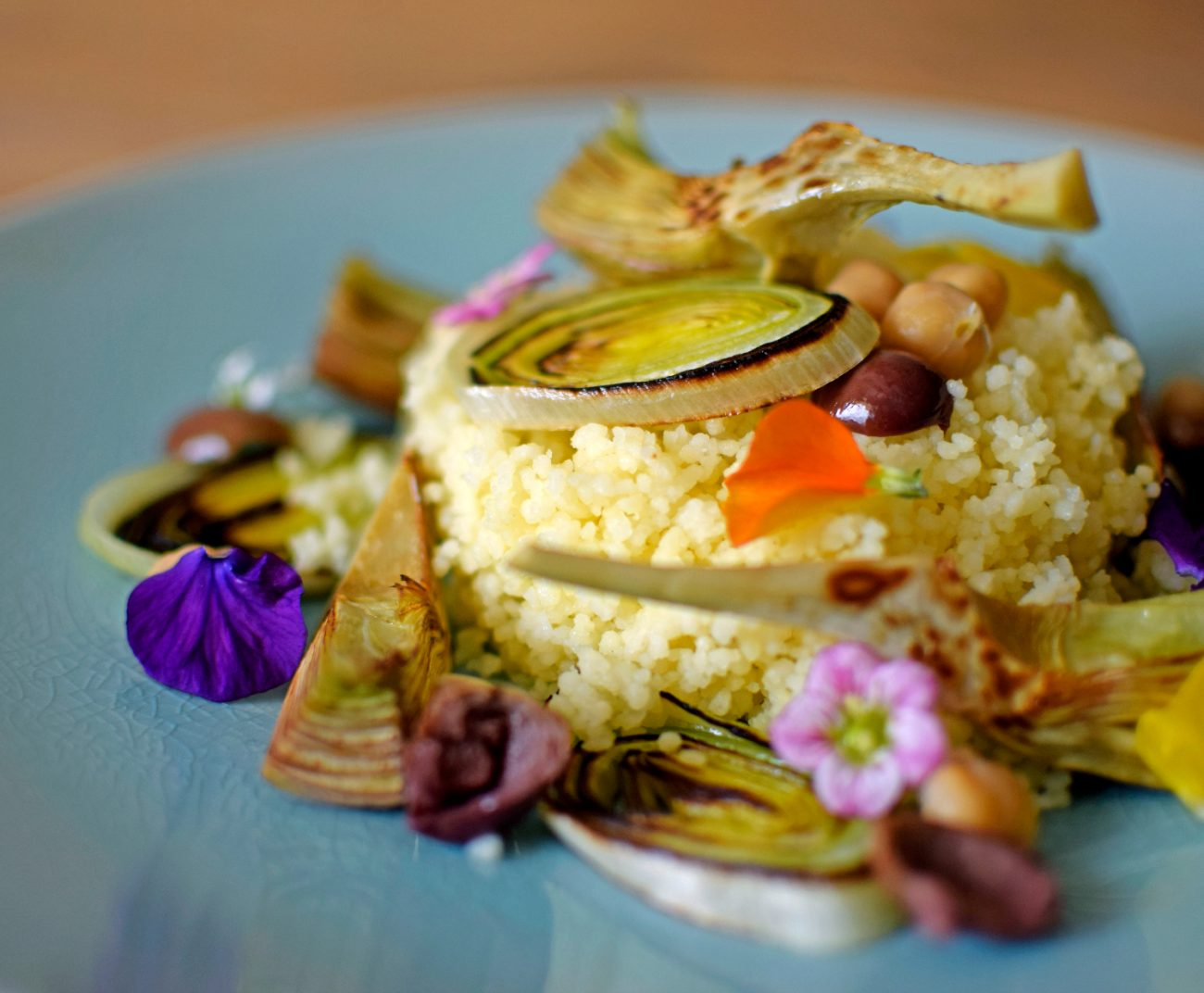 Couscous con verdure miste