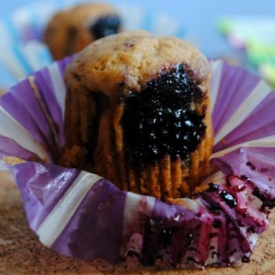 vegan muffin allo yogurt e mirtilli_ Valentina Naturalentamente
