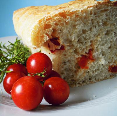 Easy bread – pane semplice con pomodorini