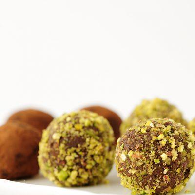 Tartufini vegna al cioccolato gluten free_Francesca gregori