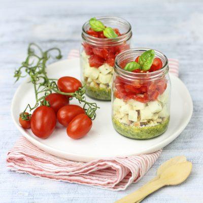 ricetta veg caprese pomodori La Stella Vegan