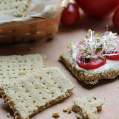 Ricetta di Mari Zeta come fare i cracker senza glutine