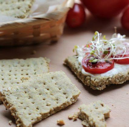 Cracker senza glutine