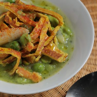 Ricetta vegan piselli asparagi_Mari Zeta