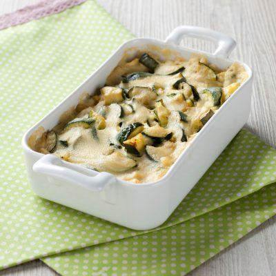 Lasagne di pane carasau e zucchine vegan_Mara di Noia_Io Scelgo Veg