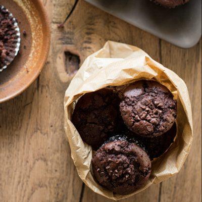 Ricetta muffin cioccolato vegan_Sugarless