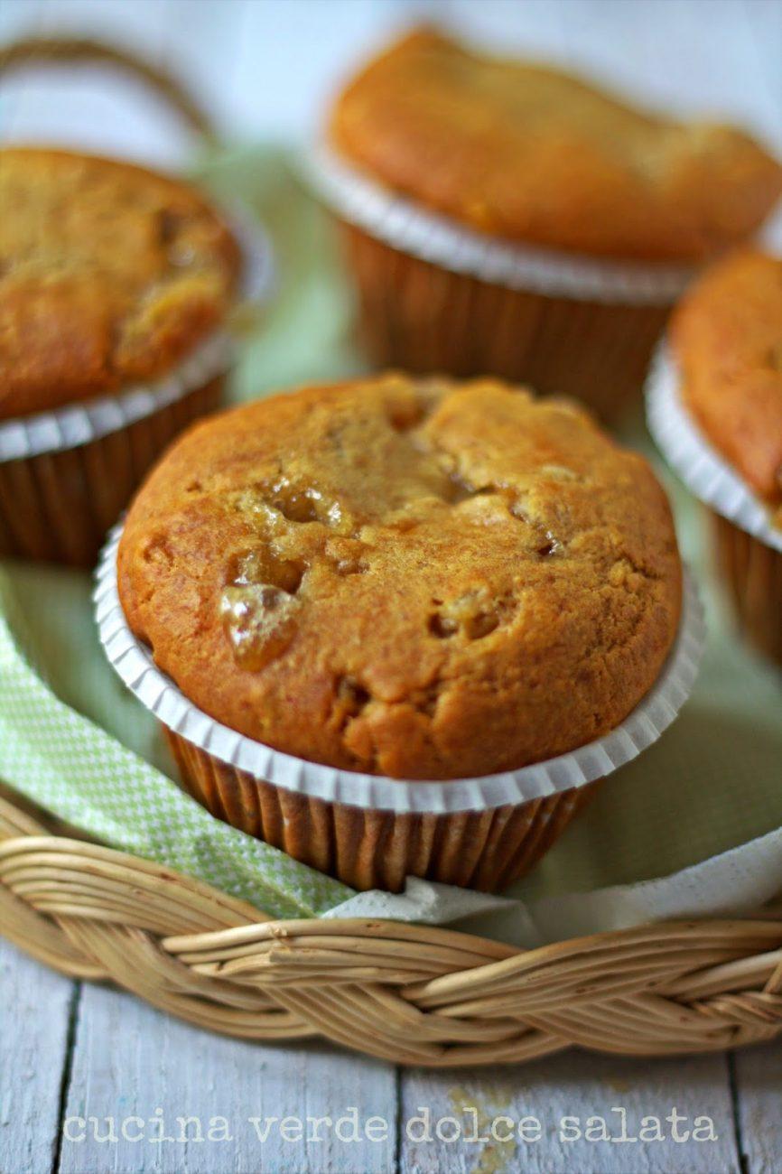 Muffin all'arancia amara