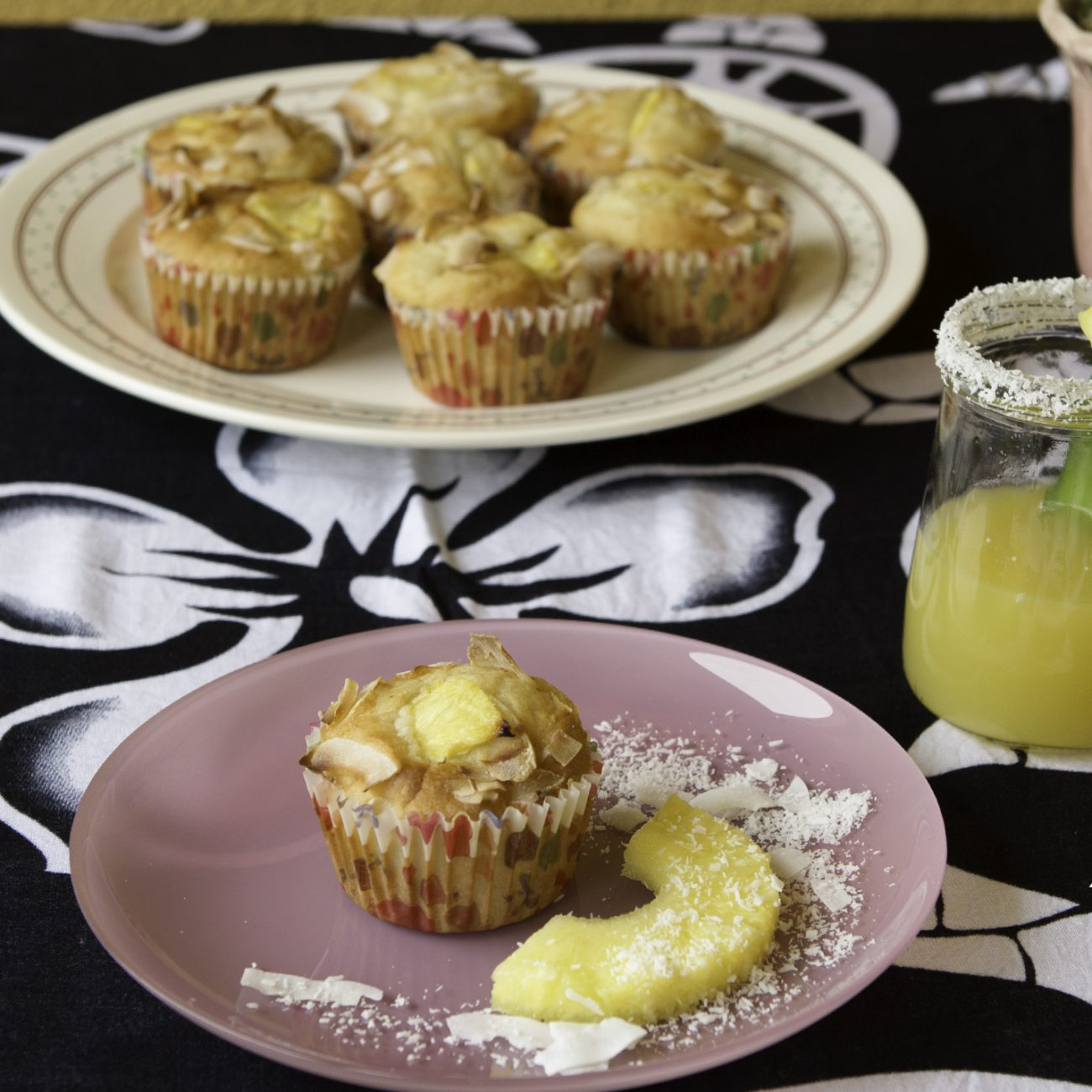 Muffin Pina Colada senza alcool