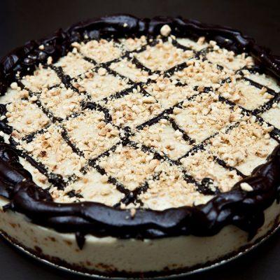 vegan cheesecake cioccolato e nocciole_francesco castaldo_io scelgo veg