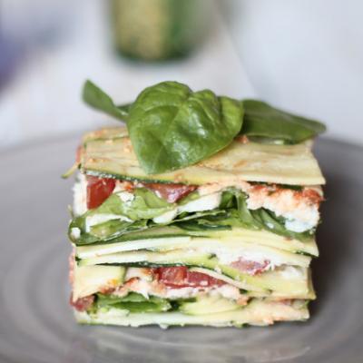 lasagnetta crudista vegan_ Martino Beria