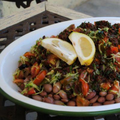 insalata borlotti veg_ Naturalentamente
