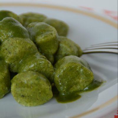 Chicche con luartis/aspargina veg_Felicia Sguazzi
