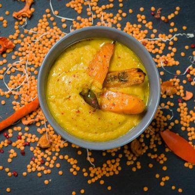 Zuppa con lenticchie vegan_Daniela Asprone