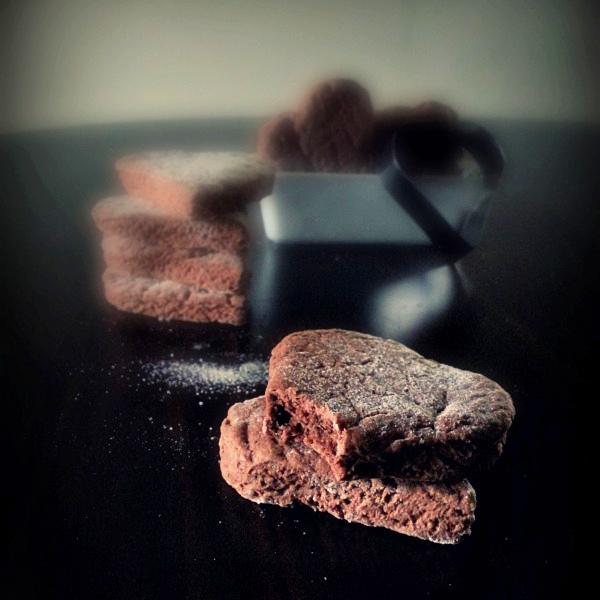 Biscottini friabili al cacao