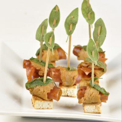 finger food saltimbocca vegan Grieco/Politi