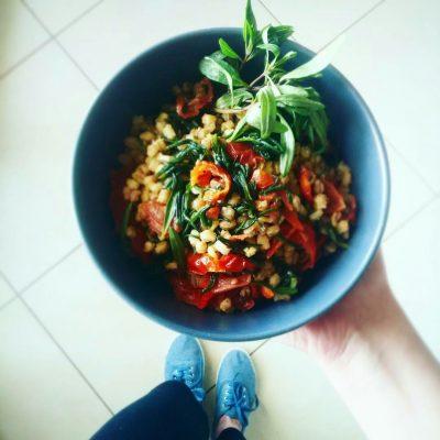 insalata grano vegan_Mila Colonna