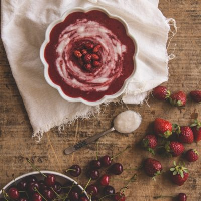 vellutata frutti rossi vegan raw_Sugarless