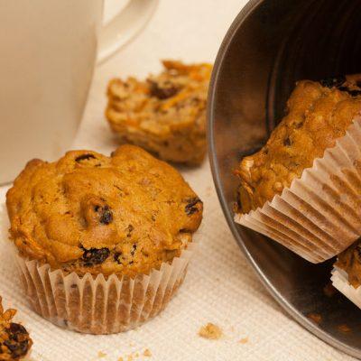 muffin vegan alle carote_Cristiano Bonolo