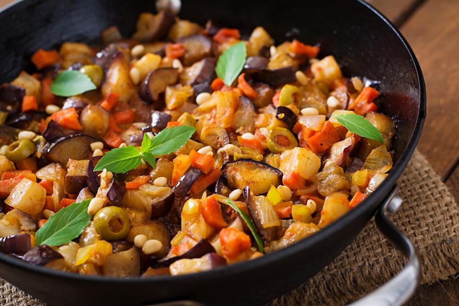 piatti vegani tradizionali