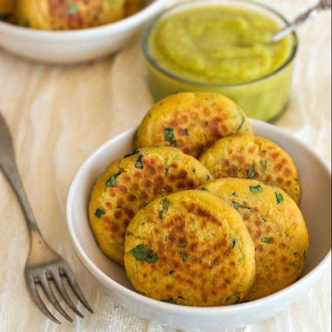 Crocchette di patate, carote e spinaci