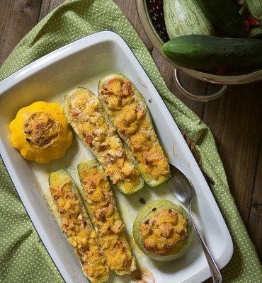 Zucchine ripiene vegan_Carla Leni