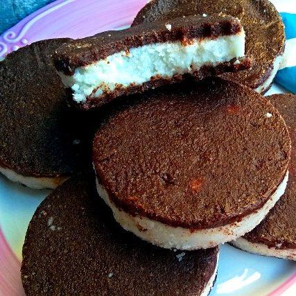 Biscotti raw al ciocco-cocco