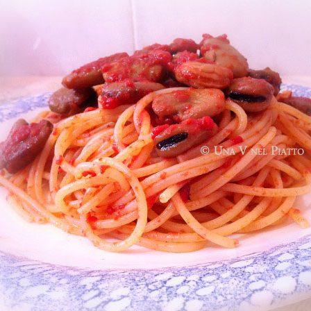 Spaghetti alle cozze di terra