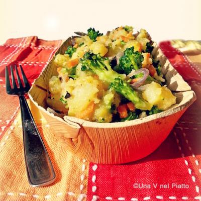 Insalata di patate e broccolo_Camiria