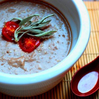 zuppa di borlotti vegan_Ravanello Curioso
