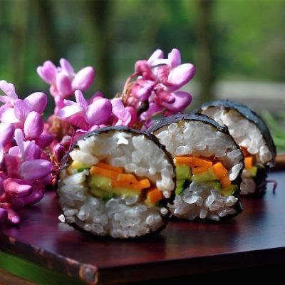 Sushi vegan_Valentina Parole Vegetali