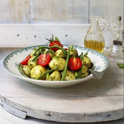 Insalata patate al pesto con fagiolini_Simona Malerba