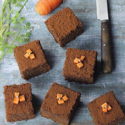 Torta ciocco e carote_La stella Vegan
