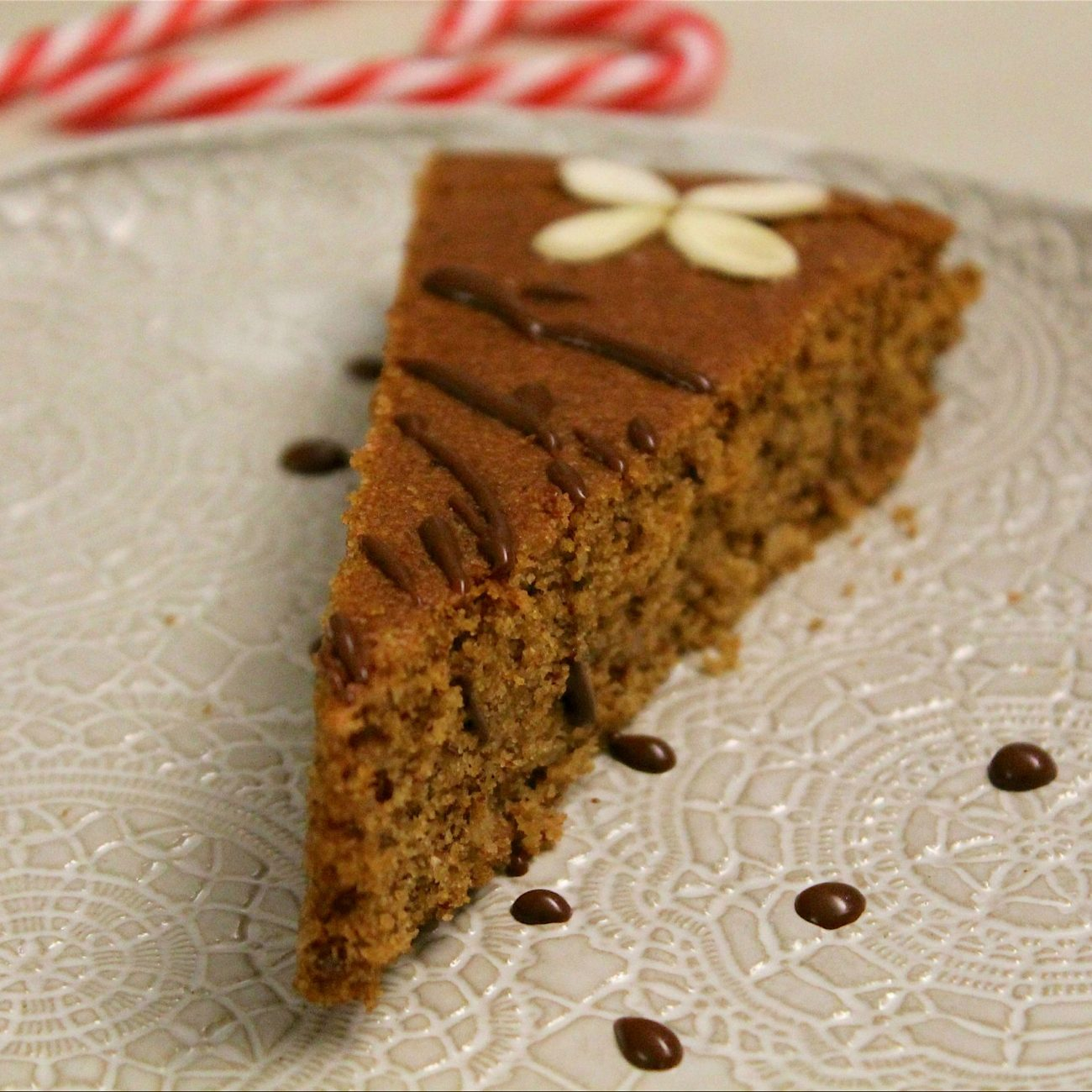 Torta di mandorle e vaniglia senza glutine