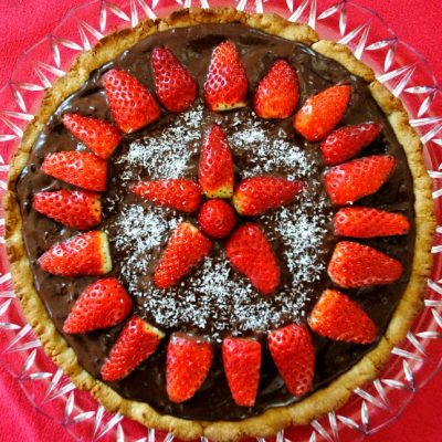crostata di fragole vegan_Naturalentamente