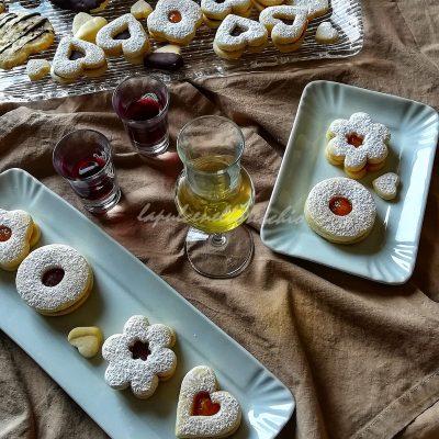 Biscotti vegani occhio di bue_Maria Tina