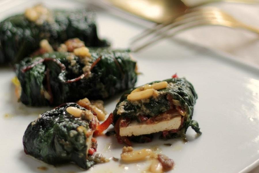Involtini di tofu