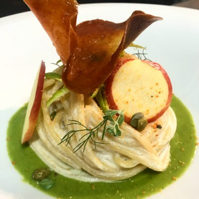 Spaghetti vegan con mopur_Nicola Manganiello