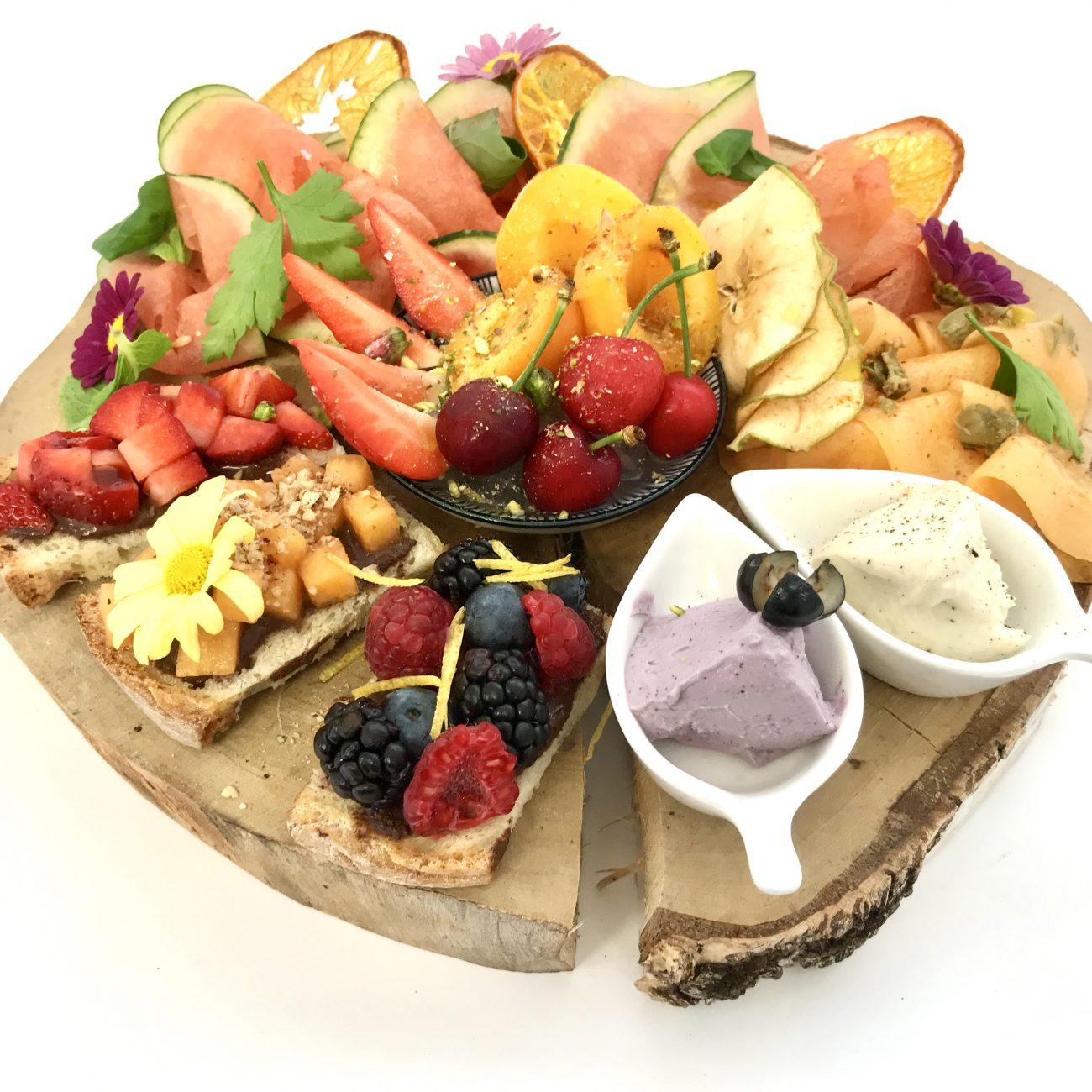 Tagliere di frutta