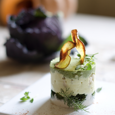 Torretta di verdure vegan_Nicola Manganiello