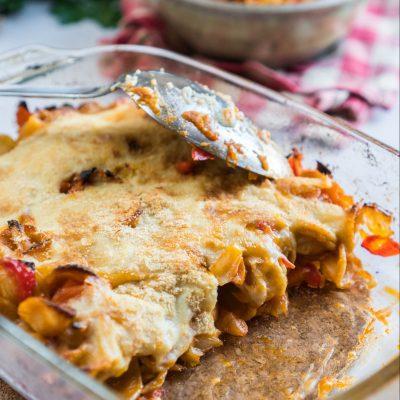 Pasta al forno con besciamella ioscelgoveg Essere Animali Elefante Veg