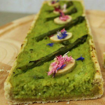 torta salata moderna agli asparagi Libera Arienti ioscelgoveg_EssereAnimali