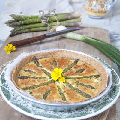 quiche integrale agli asparagi Francesca Militello