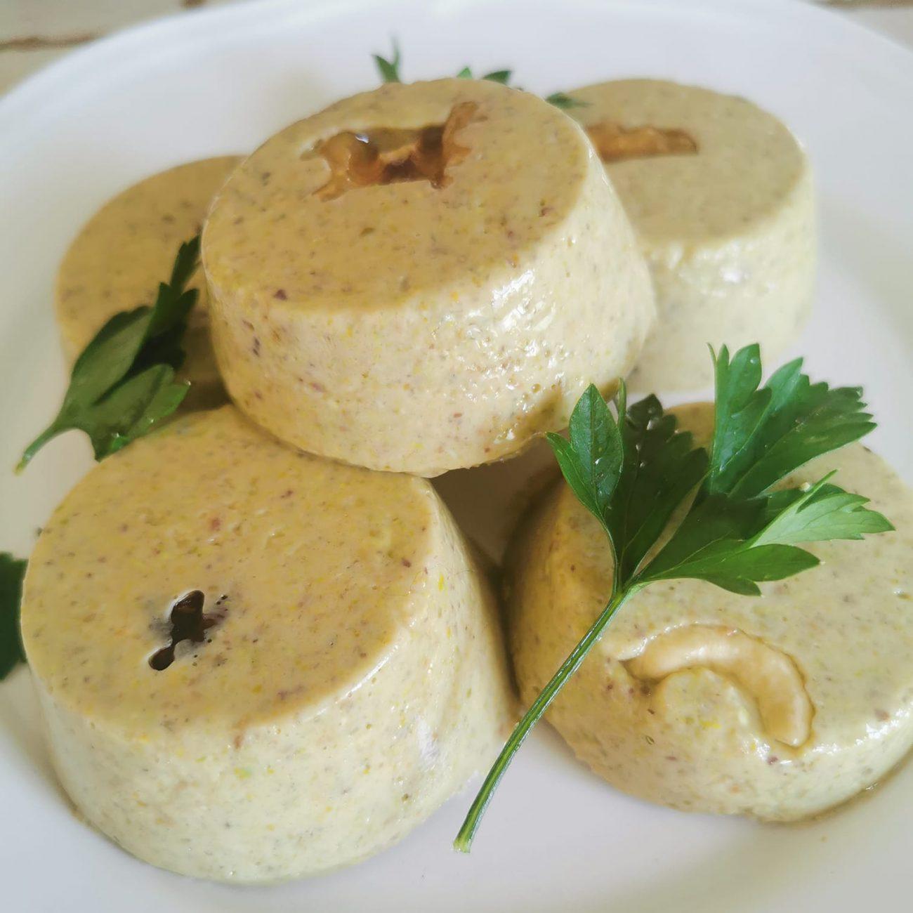Vegformaggio di pistacchi
