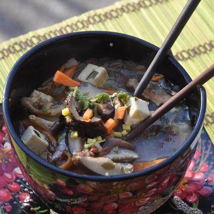 Zuppa di wakame