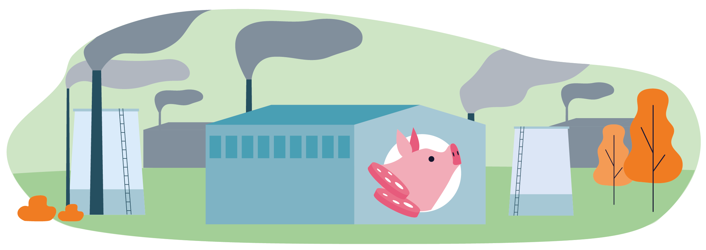 Gas serra Io Scelgo Veg-Essere Animali